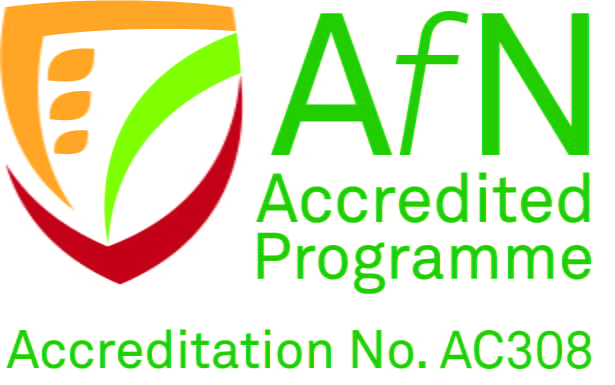 AfN accredited programme logo