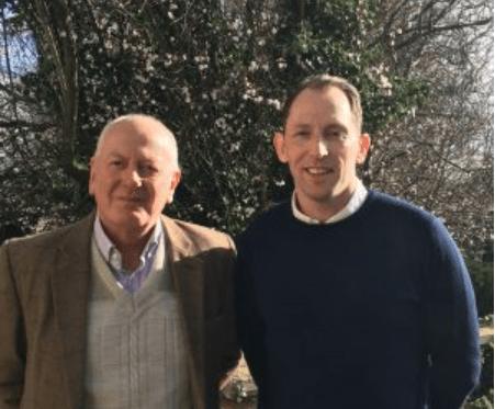 Bruce Hoad and Dr Alan Richardson