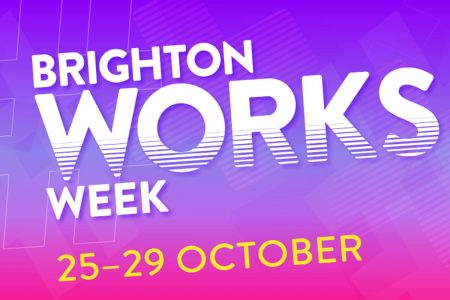 graphic saying Brighton works week