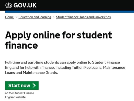 APPLY STUDENT FINANCE