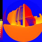 Irradiance falsecolour image