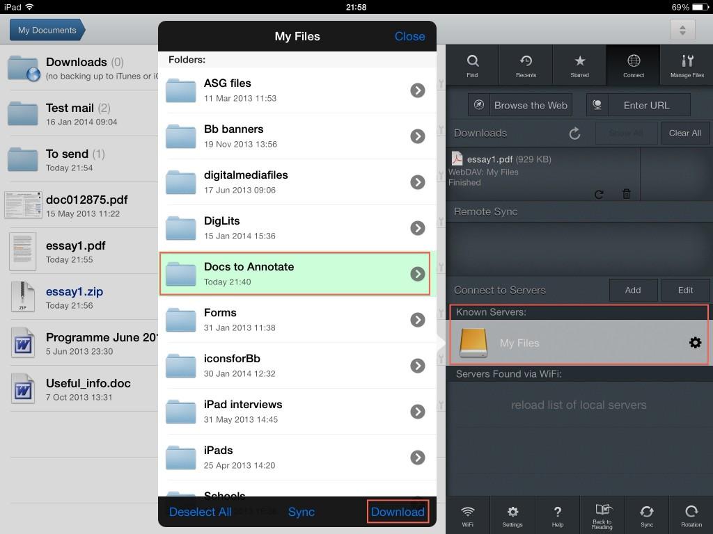 Download the folder