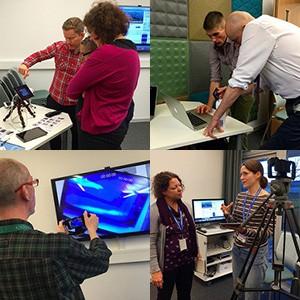 eLearning Pop-up Lab at Falmer December 2015