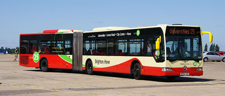 Brighton and Hove bus number 25