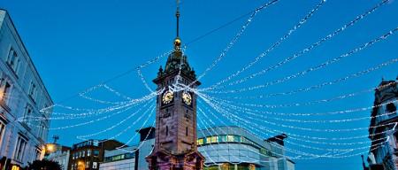 Christmas lights in Brighton