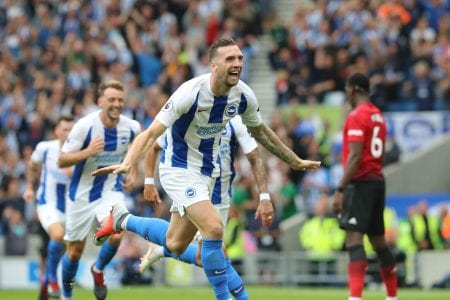Brighton and Hove Albion v Manchester United Premier League19AUG18