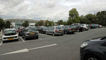 Falmer campus car park