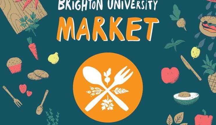 University street food and market