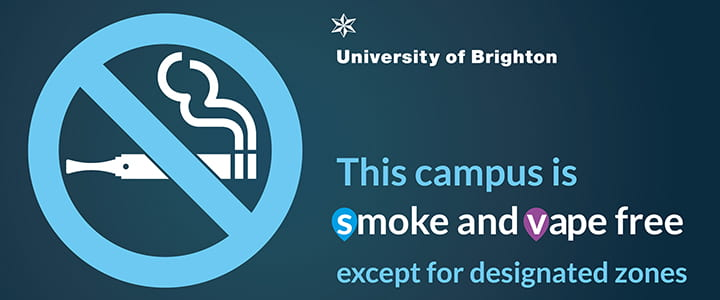 This campus is smoke and vape free