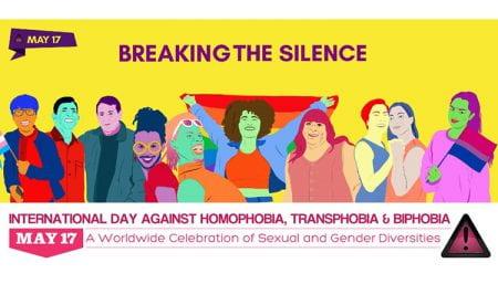 International Day Against Homophobia, Biphobia and Transphobia (IDAHoBiT)