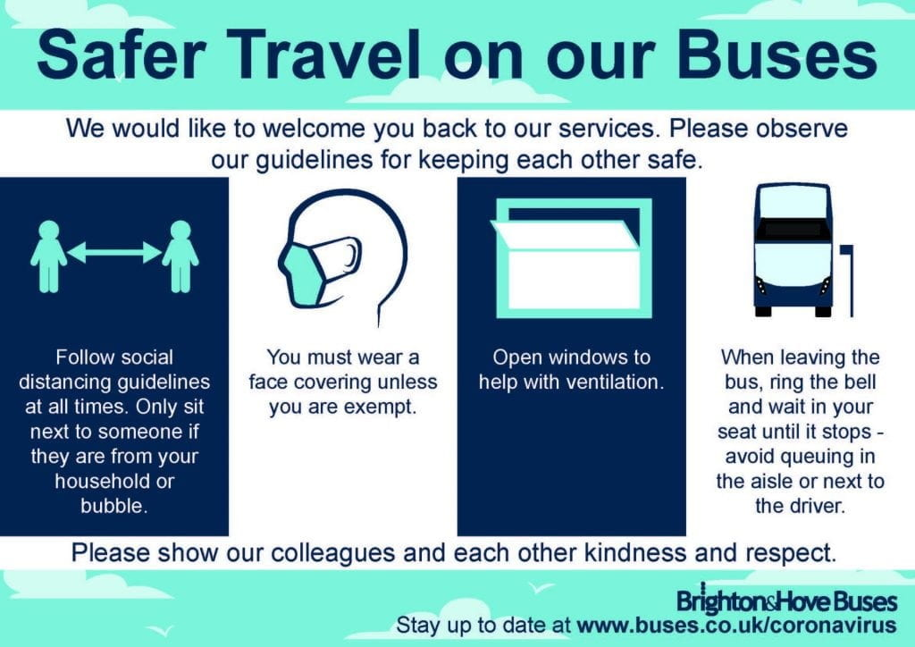 Safer travel on bus