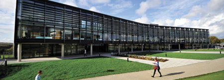 Checkland building on the Falmer campus