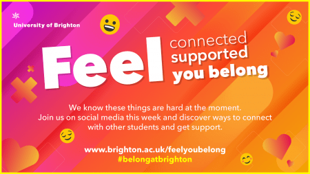 Feel connected, supported, you belong at Brighton