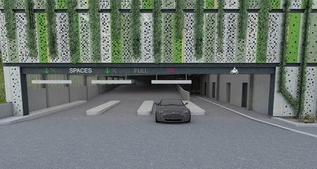 Car park on Moulsecoomb campus