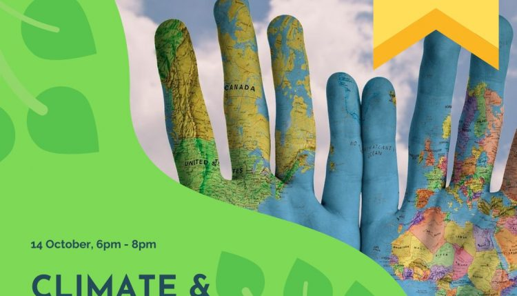 Climate & Consciousness What's the connection event