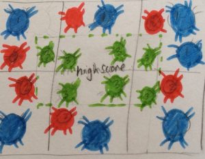 Scabies game mat 2