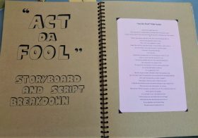 Act Da Fool- storyboard and script breakdown