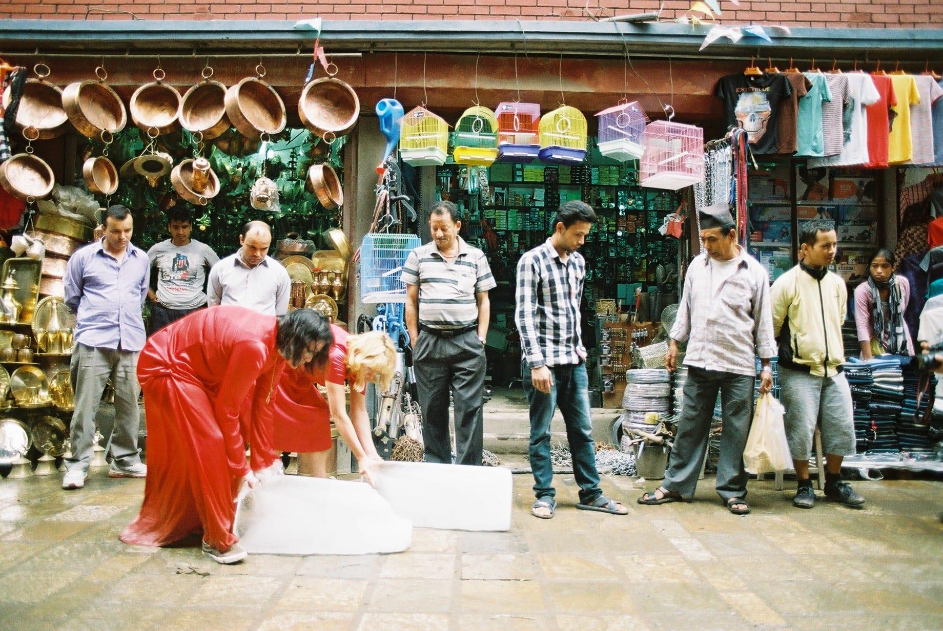 Alice Fox art project Kathmandhu