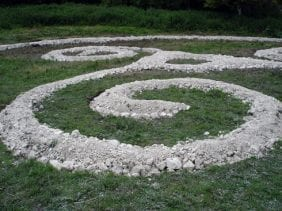 Saddlescoombe Spiral from Art in the Woods