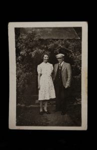 Family photograph of my Great Grandmother and Grandfather