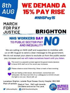 8th August Demonstration Flyer