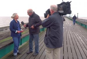 ITV interview Clevedon Pier