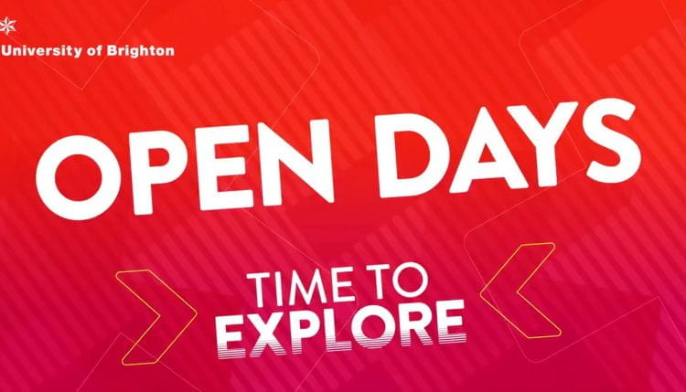 open days time to explore graphic