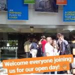 A warm welcome at our open day