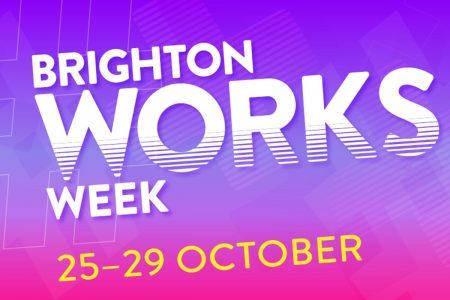 Brighton works careers fair graphic