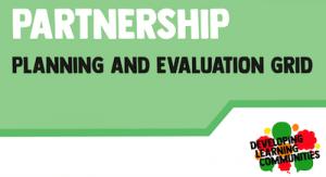 Partnership planning and evaluation screenshot