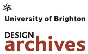 Logo for the University of Brighton Design Archives