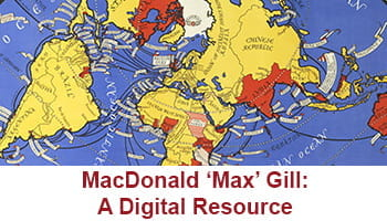 Button taking you to MacDonald 'Max' Gill: A Digital Resource