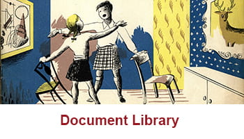 Button taking you to Design Archives' Document Library