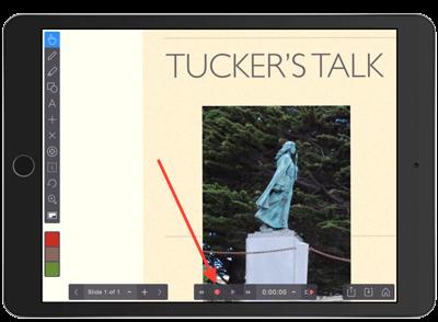 visual discriptive screen capture