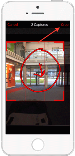 Photo illustration of text description