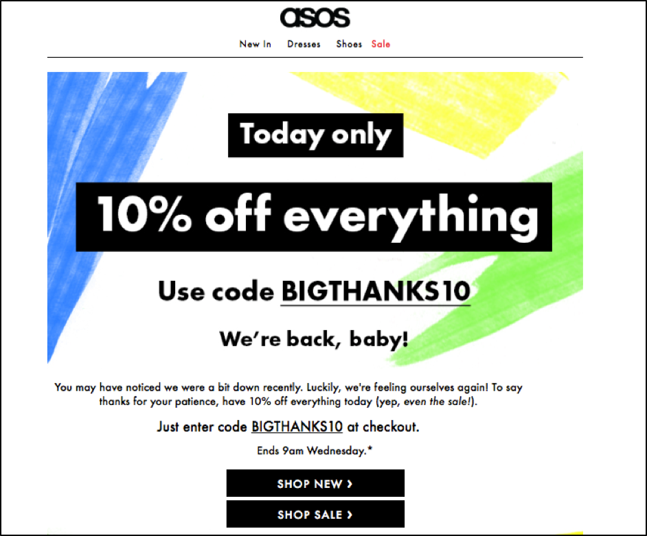 10% Student Discount At ASOS - Must Have! Calling all students! Apply this promo code at ASOS to get an amazing 10% off!