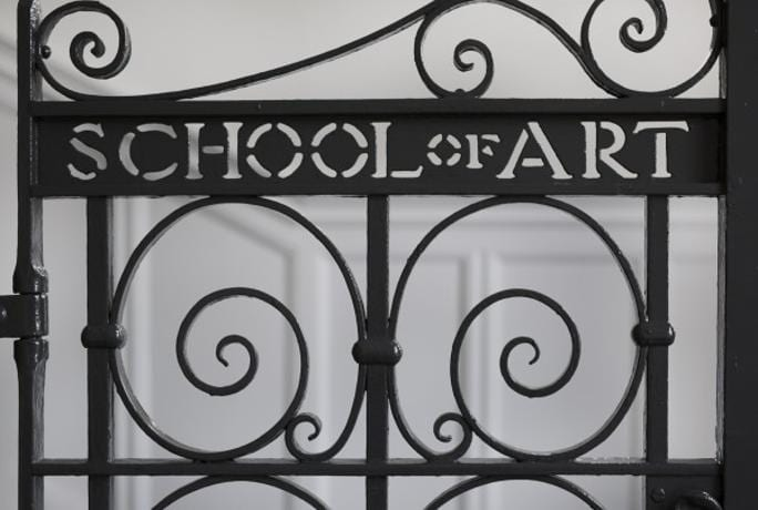 art school gate