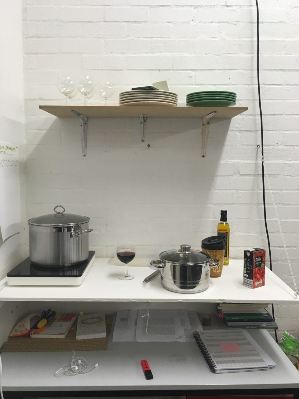 studio kitchenette