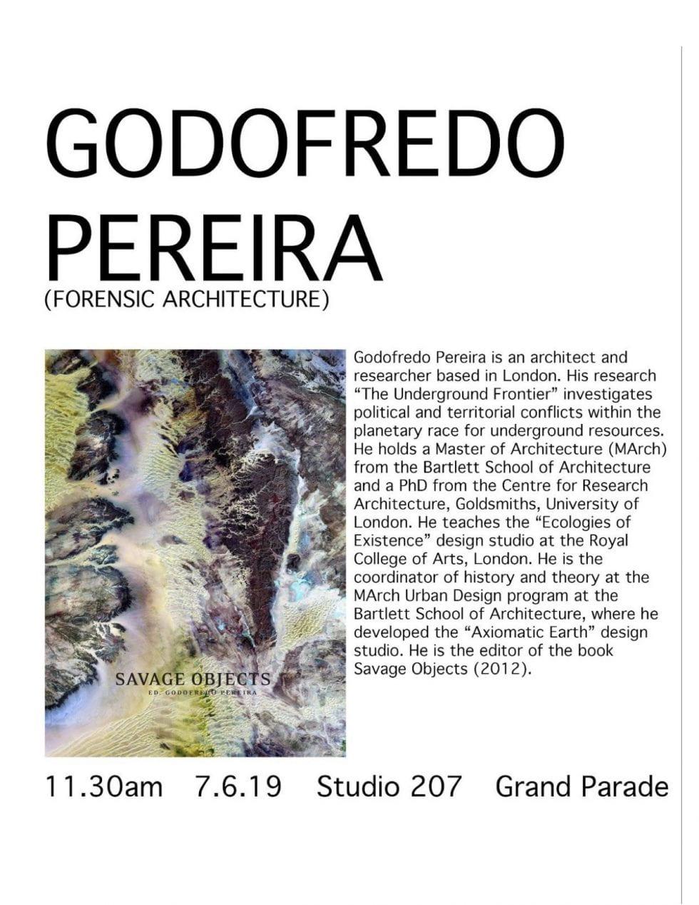 Godofredo Pereira POSTER
