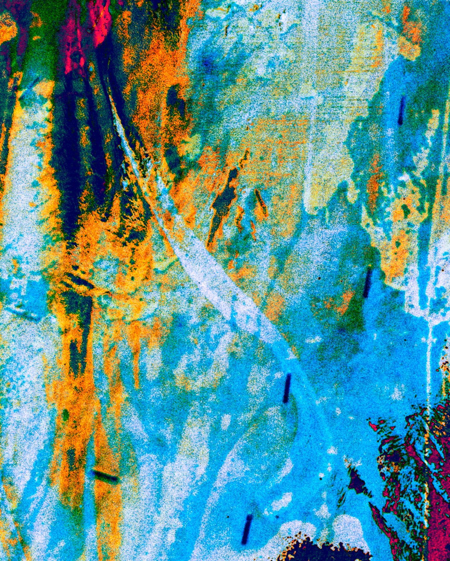 decay destruction painting art collage colour vandalism pixel digital post