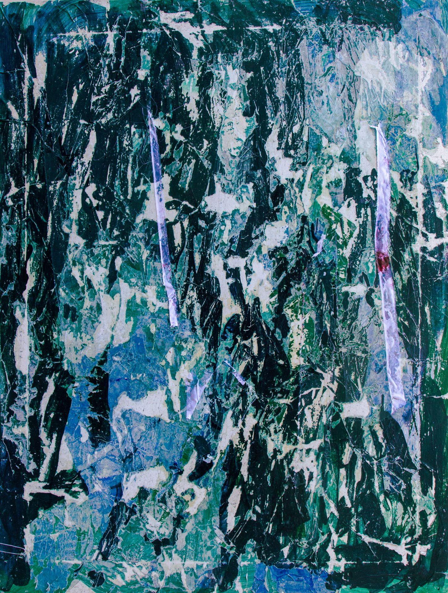 digital decay painting destruction colour paper collage post vandalism network pixel