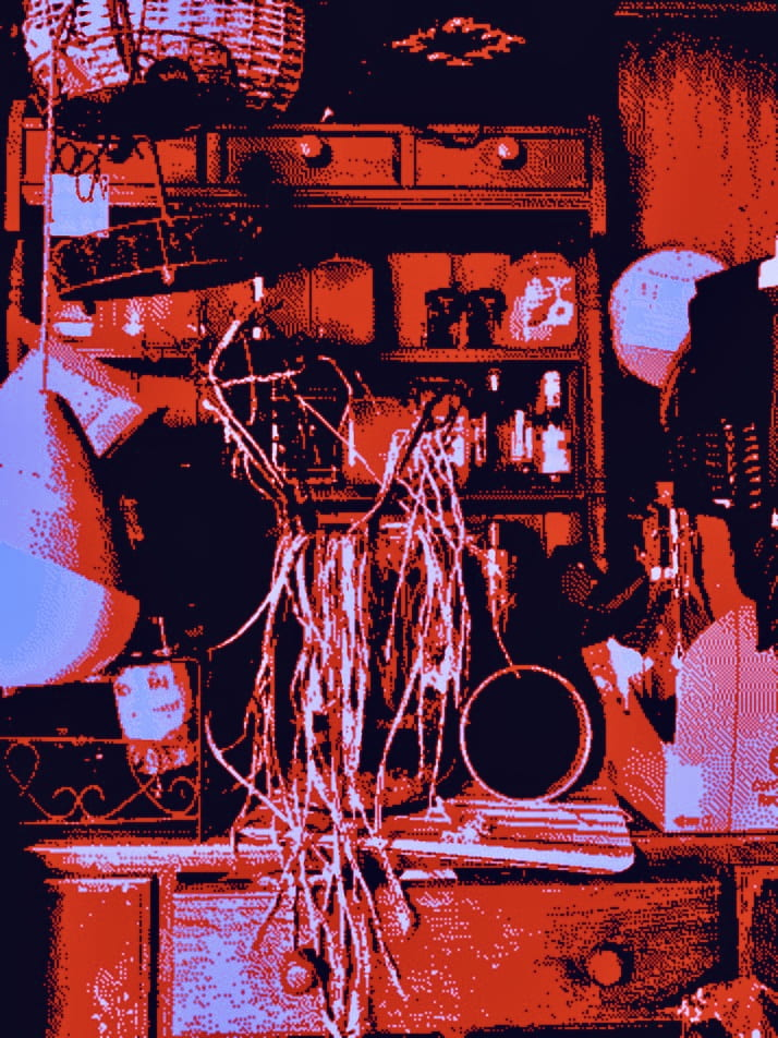 glitch art broken forms digital new wave william butterick decay glitche