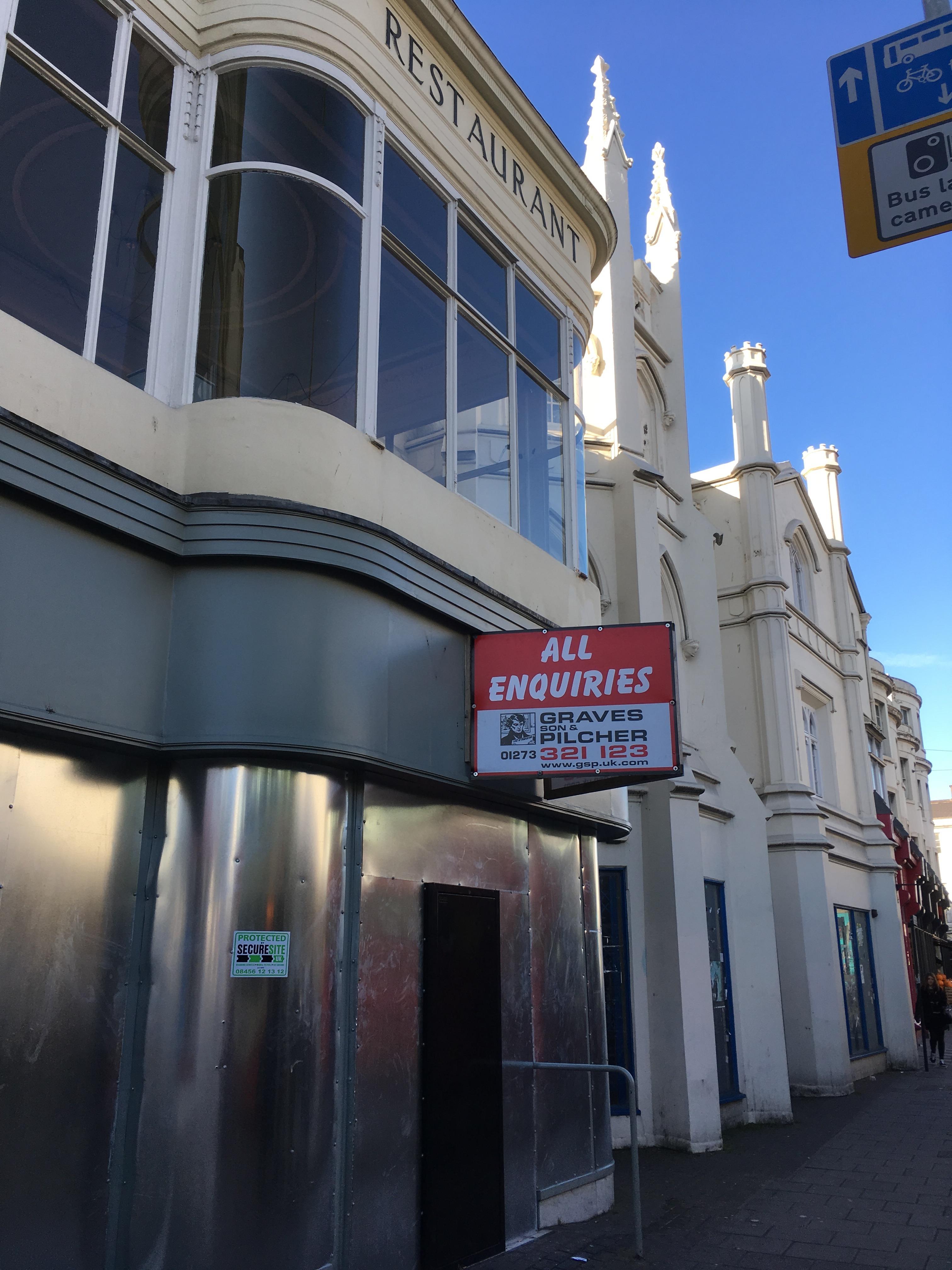 Restaurants Brighton Western Road