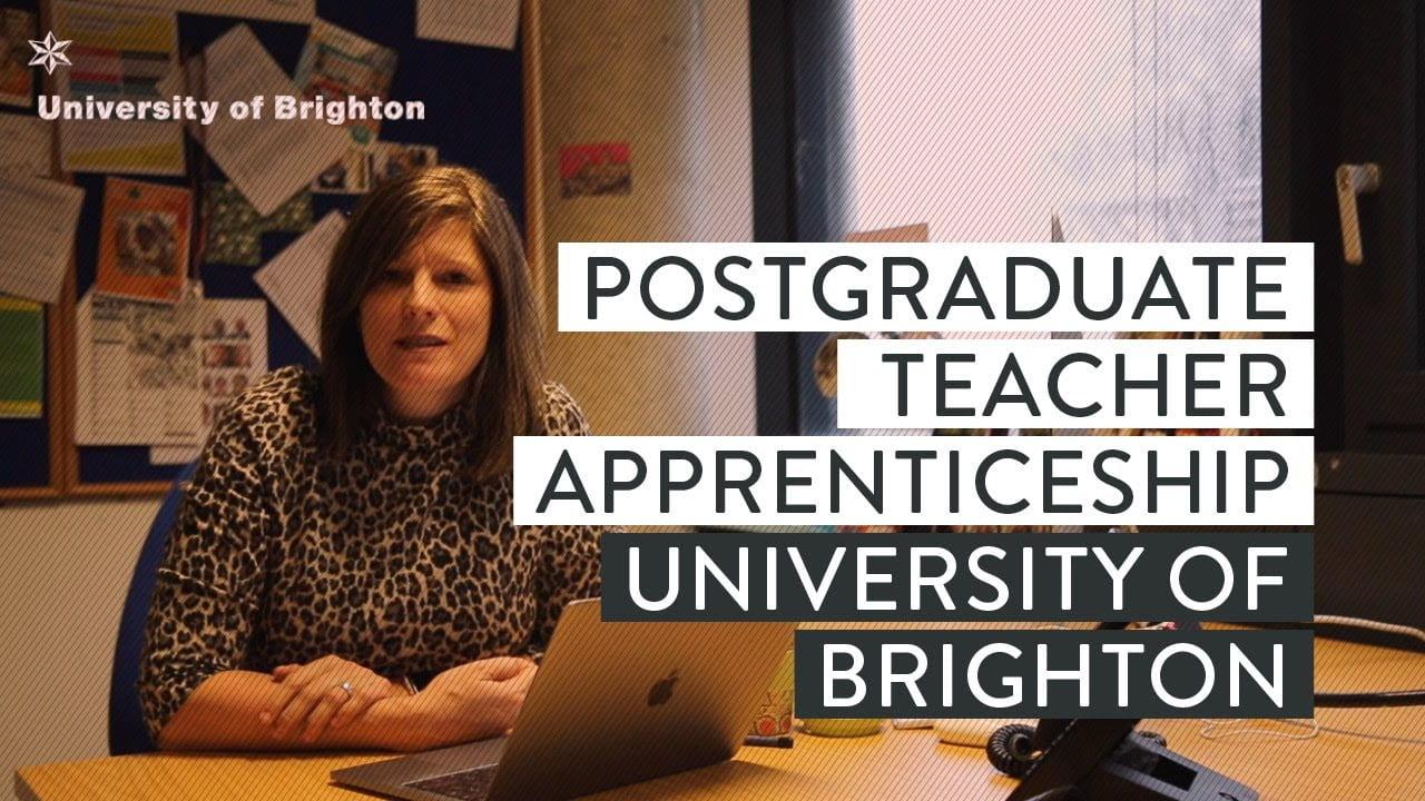 Postgraduate Teacher Apprenticeship course leader Lis Bundock giving an interview