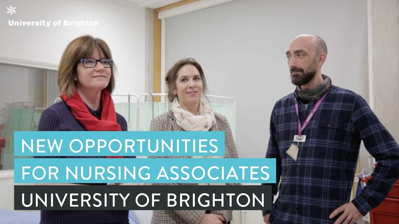 three nursing associate employers on ward