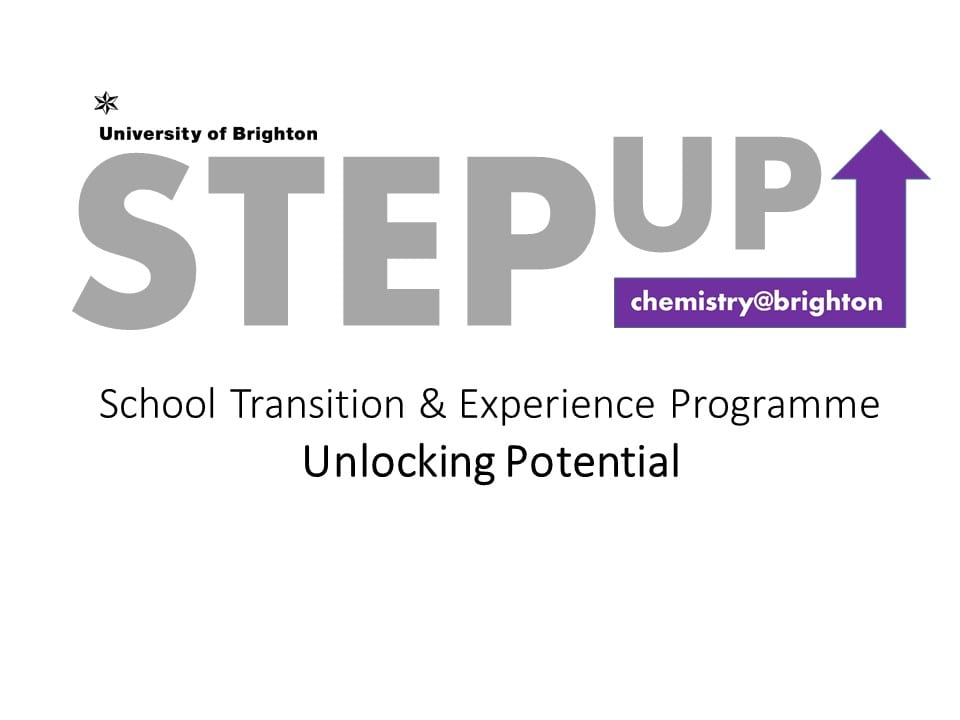 STEP UP Logo - School Transition & Experience Programme - Unlocking Potential