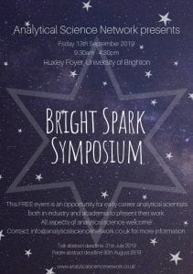 Bright Spark symposium flyer