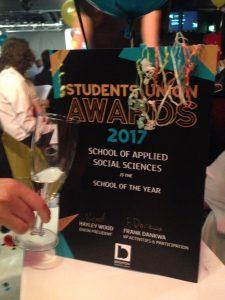 BSU Student Union 2017 Award SASS