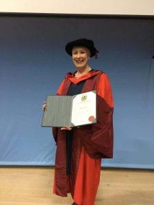 Professor Kate Bullen, Head of the School of Applied Social Science