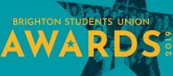 Brighton Students Union Awards logo